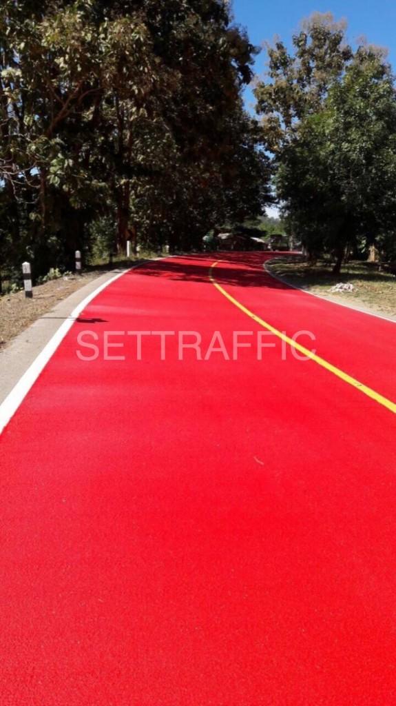 SETNEWS12 575x1024 - ทางโค้งสีแดง แขวงทางหลวง แม่ฮ่องสอน เริ่มแล้ว!!!