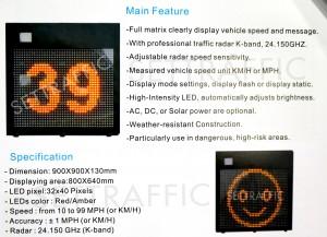 Solar Speed Signs